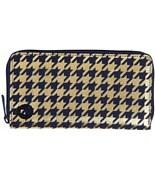 MI-PAC peněženka Zip Purse  Houndstooth Navy/Gold