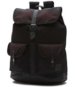 VANS batoh Lean In Backpack Black/Multi