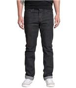 KREW kalhoty K Slim Dark Black
