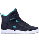 SUPRA boty Bleeker Black /Atlantis-Off White