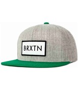 BRIXTON kšiltovka Rift Heather Grey/Green