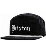BRIXTON kšiltovka Whittier Black