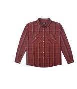 BRIXTON košile Memphis Burgundy
