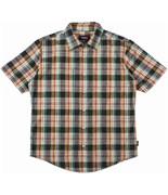 BRIXTON košile Branson Black/Green