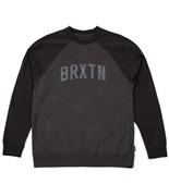 BRIXTON mikina Hamilton Ii Crew Black/Black