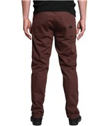 KREW kalhoty K Slim 5 Pocket Oxblood