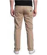 KREW kalhoty K Slim 5 Pocket Dark Khaki