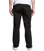 KREW kalhoty Klassic Chino Black