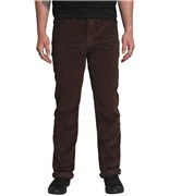 KREW kalhoty K Slim 5 Pocket Dark Chocolate
