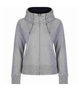 BENCH mikina Effortless Mid Grey Marl