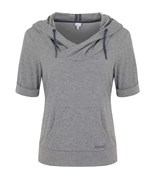 BENCH mikina Shelton Mid Grey Marl