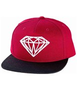 DIAMOND kšiltovka OG Logo Burgundy Black
