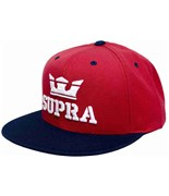 SUPRA kšiltovka Above Snap Red/Navy