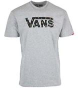 VANS triko Vans Classic Logo Athletic Heathe