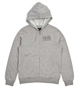 BRIXTON mikina Grade Heather Grey
