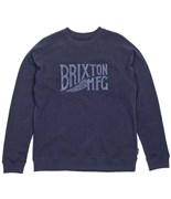 BRIXTON mikina Coventry Washed Navy