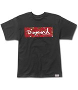 DIAMOND triko Low Life Box Logo Black