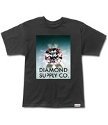 DIAMOND triko Diamond Supply Black