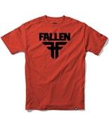 FALLEN triko Insignia Blood Red/Black