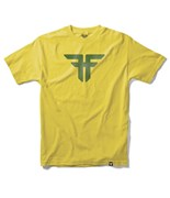 FALLEN triko Trademark Yellow/Surplus Green