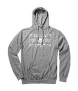 FALLEN mikina Sweat 100 Proof Heather Grey