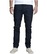 KREW kalhoty Bots K Skinny Dark Blue