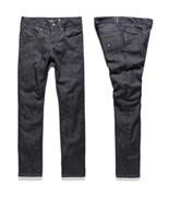 KREW kalhoty K Skinny Denim Raw Blue