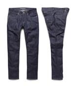 KREW kalhoty K Sklim Taper Denim Raw Blue