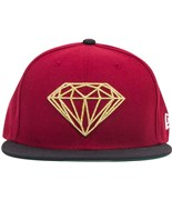 DIAMOND kšiltovka Brilliant Fitted Red Gold