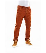 REELL kalhoty Grip Tapered Chino Burned Orange
