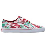 SUPRA boty Wrap Lowt Red/Print - White