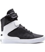 SUPRA boty Society II Black/White