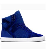 SUPRA boty High Skytop Royal/White