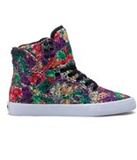 SUPRA boty Skytop High Floral-White