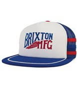 BRIXTON kšiltovka Lorry Mesh Cap White/Royal