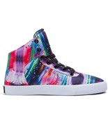 SUPRA boty Cuttler High Paint Splatter-White