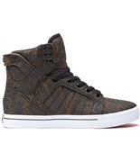 SUPRA boty Skytop High Green Camo