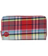 MI-PAC peněženka Zip Purse Tartan Red