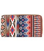 MI-PAC peněženka Zip Purse Aztec Tan/Red/Blue