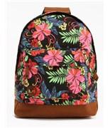 MI-PAC batoh Tropical Floral Neon Black