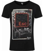 BENCH triko Esc Black
