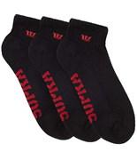 SUPRA ponožky Supra Low Sock 3 Pk Black