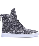 SUPRA boty Womens Joplin Black/Pattern-White