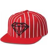 DIAMOND kšiltovka Brilliant Pinstripe Red
